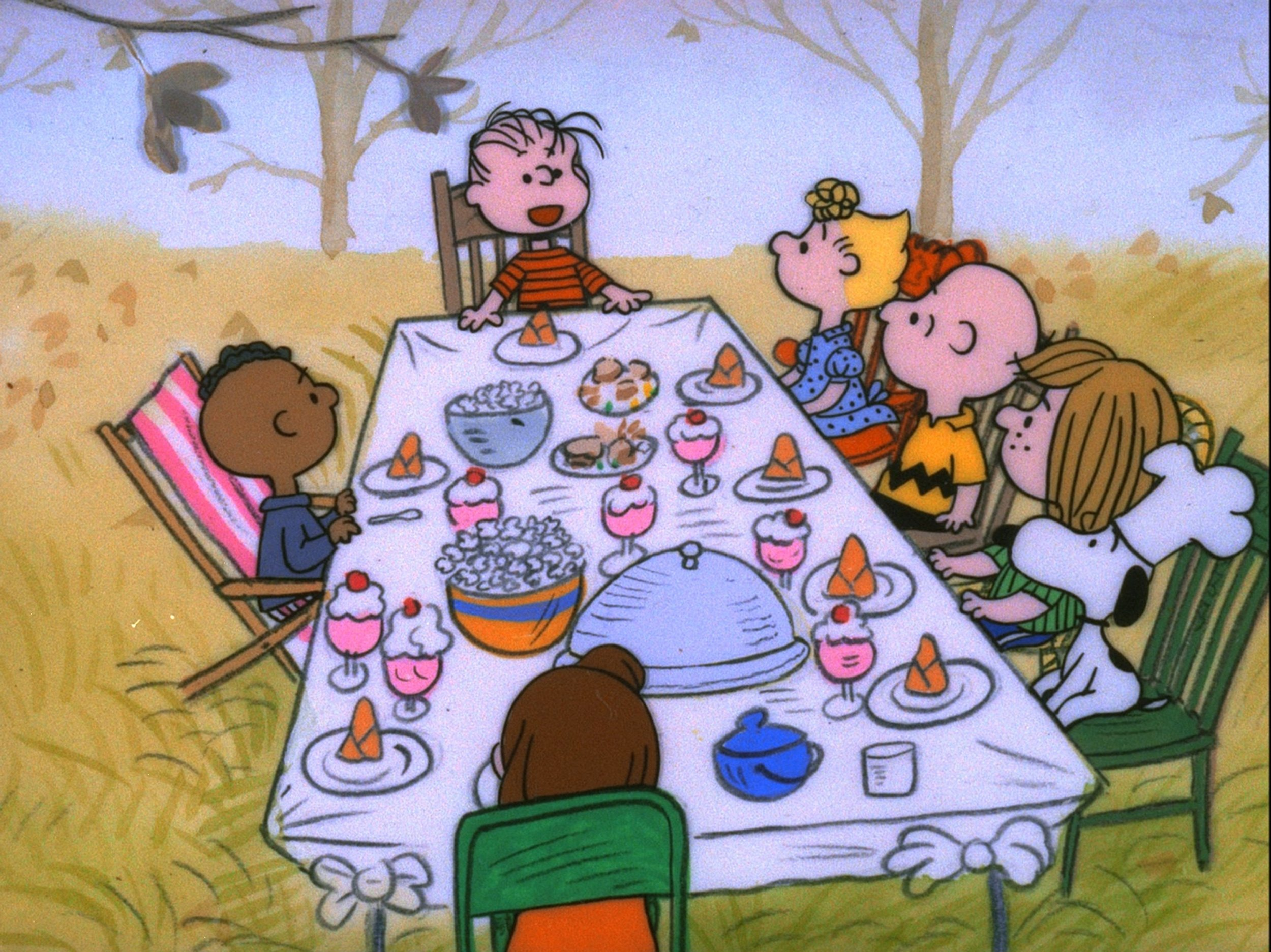 when to watch a charlie brown thanksgiving 2019