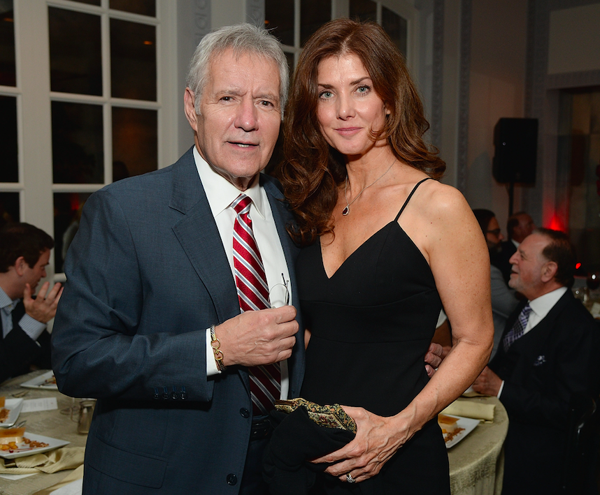 alex trebek's wife talks about how she copes with husband's cancer