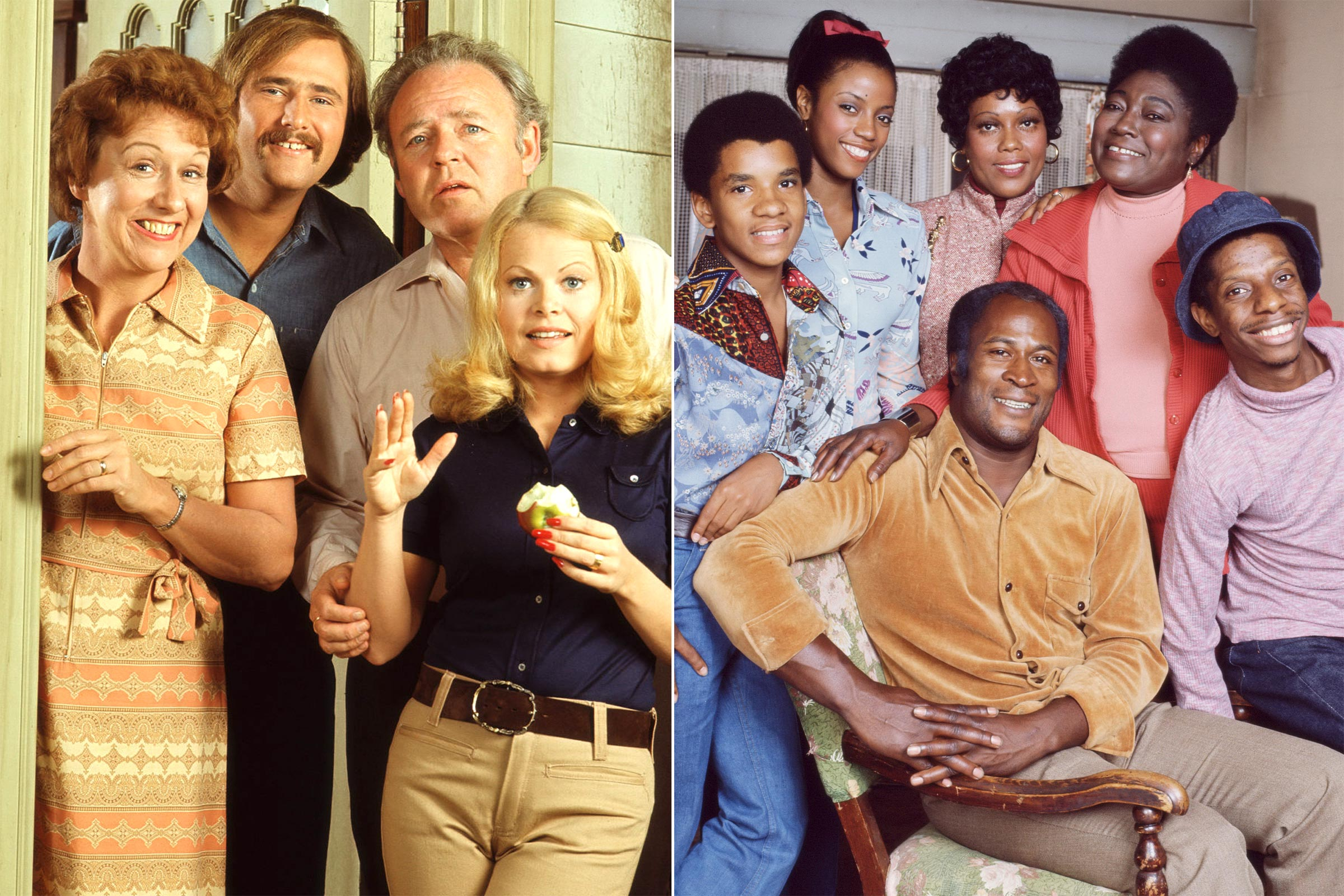 all in the family and good times