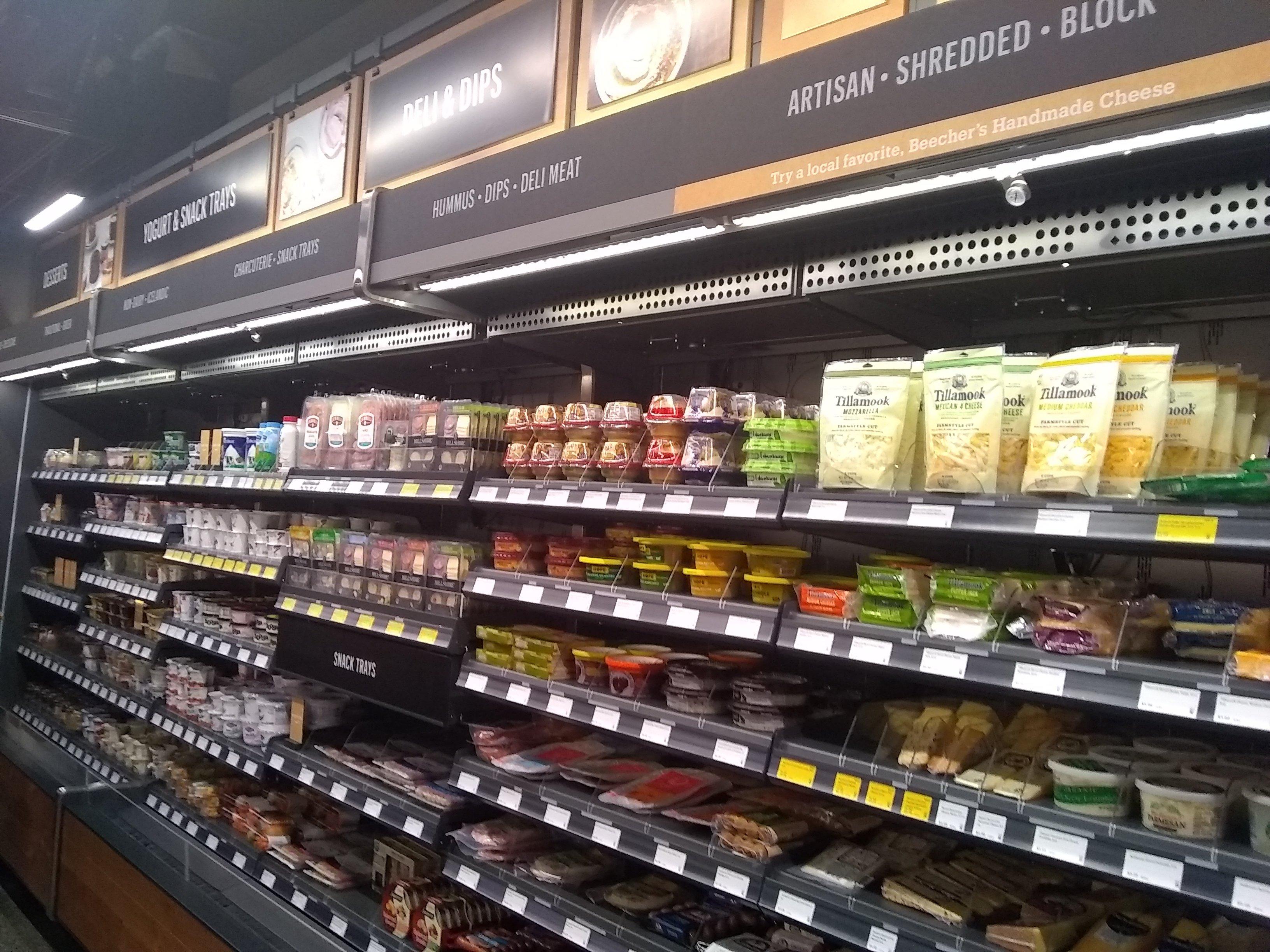 amazon go shelves