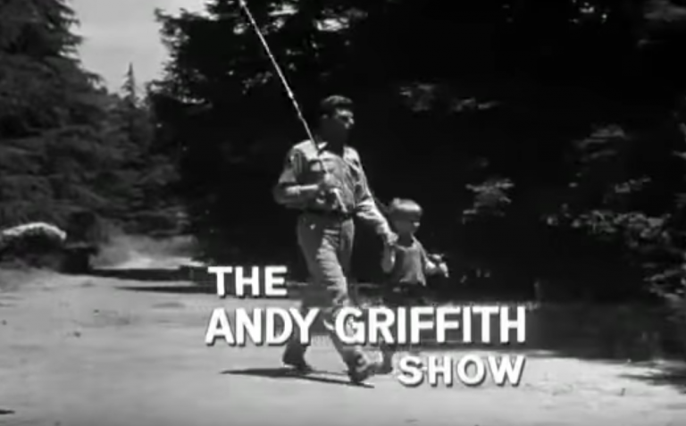 the andy griffith show theme song actually had lyrics