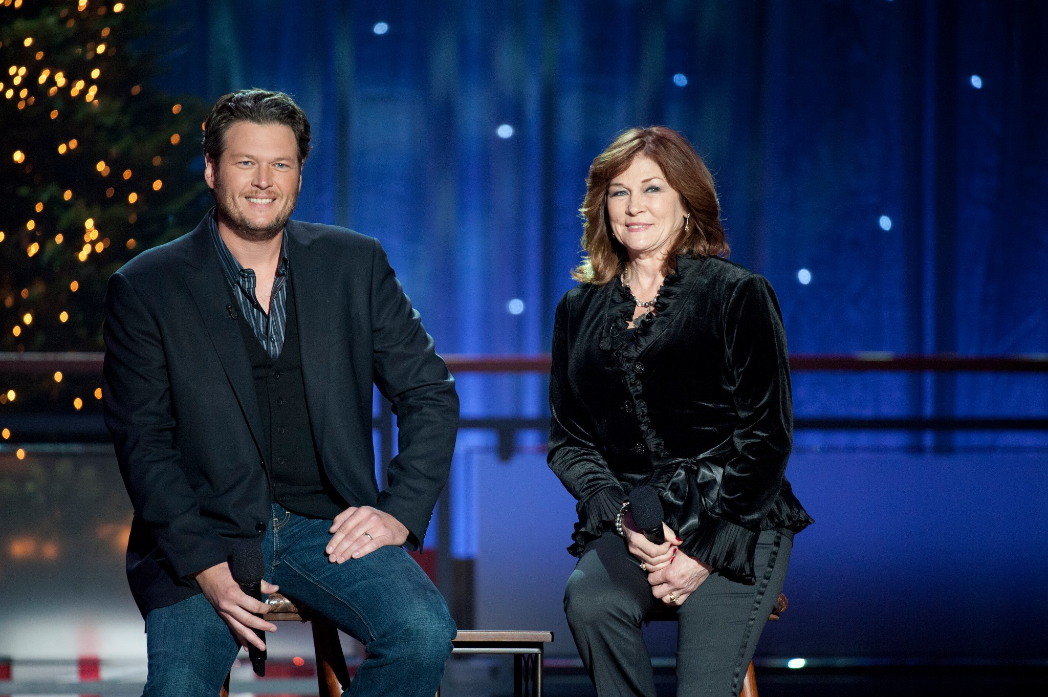 blake shelton and his mother Dorothy Shackleford