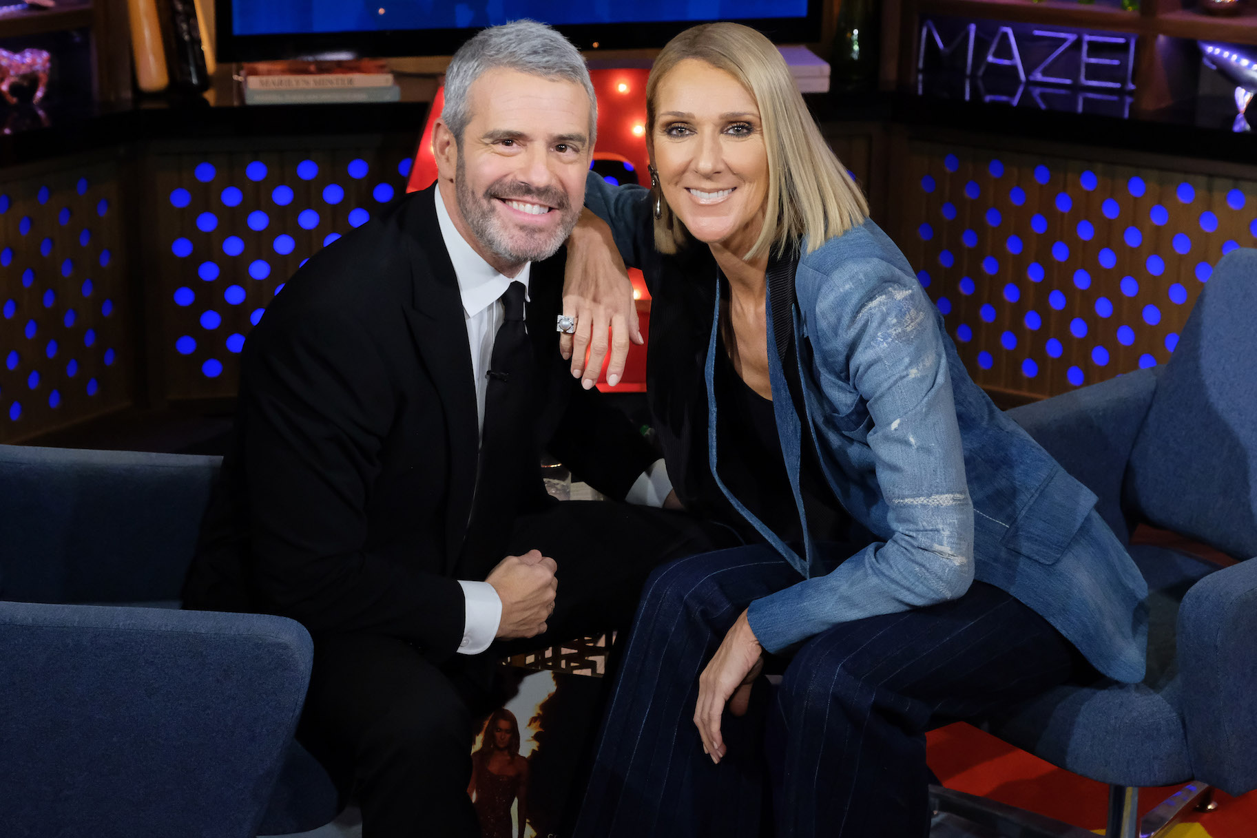 celine dion and andy cohen