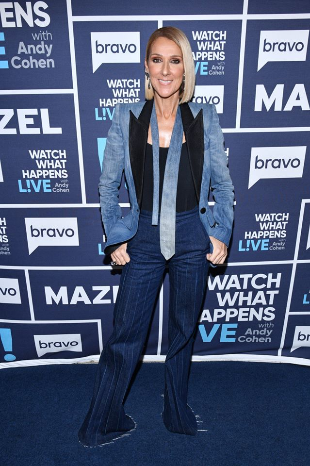 celine dion watch what happens live