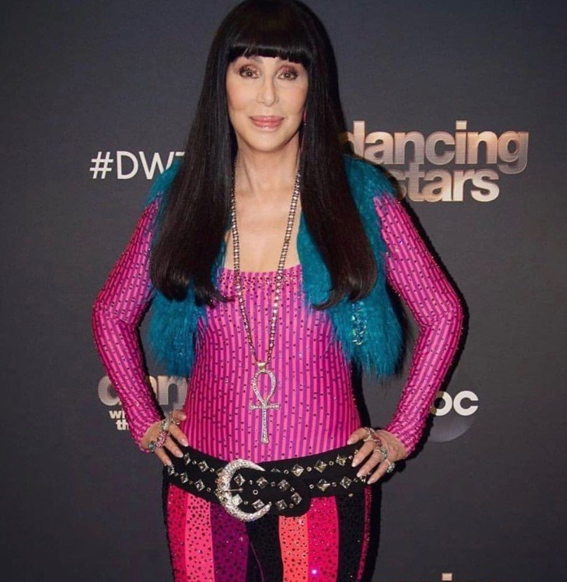 cher performed on dancing with the stars sonny and cher the beat goes on