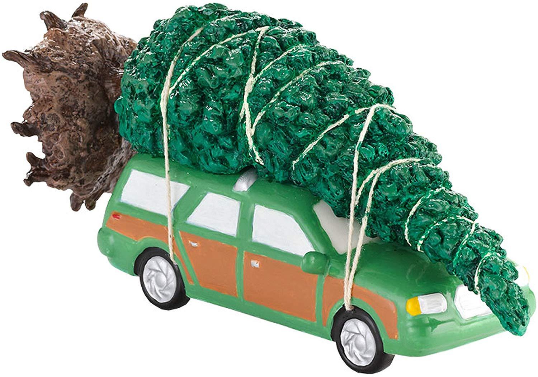 christmas vacation car and christmas tree