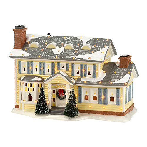christmas vacation griswold house ceramic