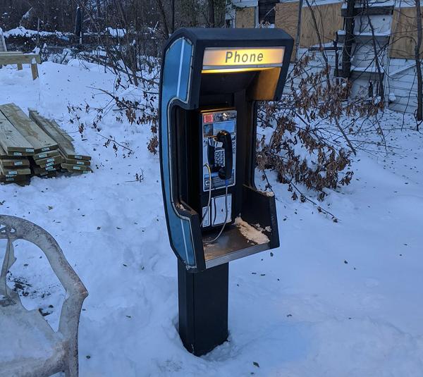 detroit payphone