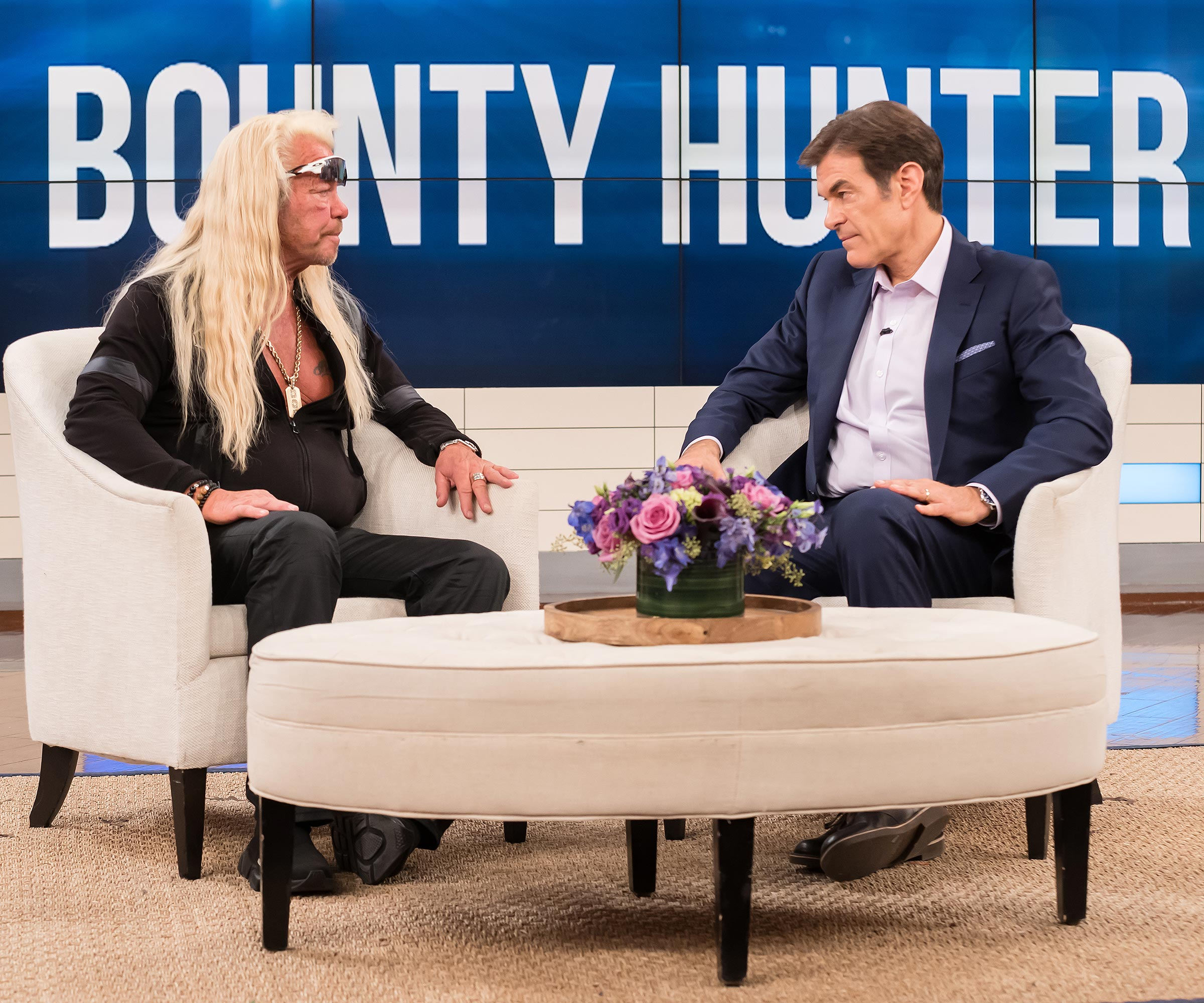 dr oz shows dog the bounty hunter's medical results