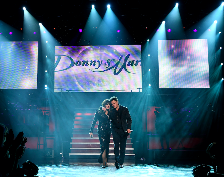 donny & marie osmond end las vegas residency