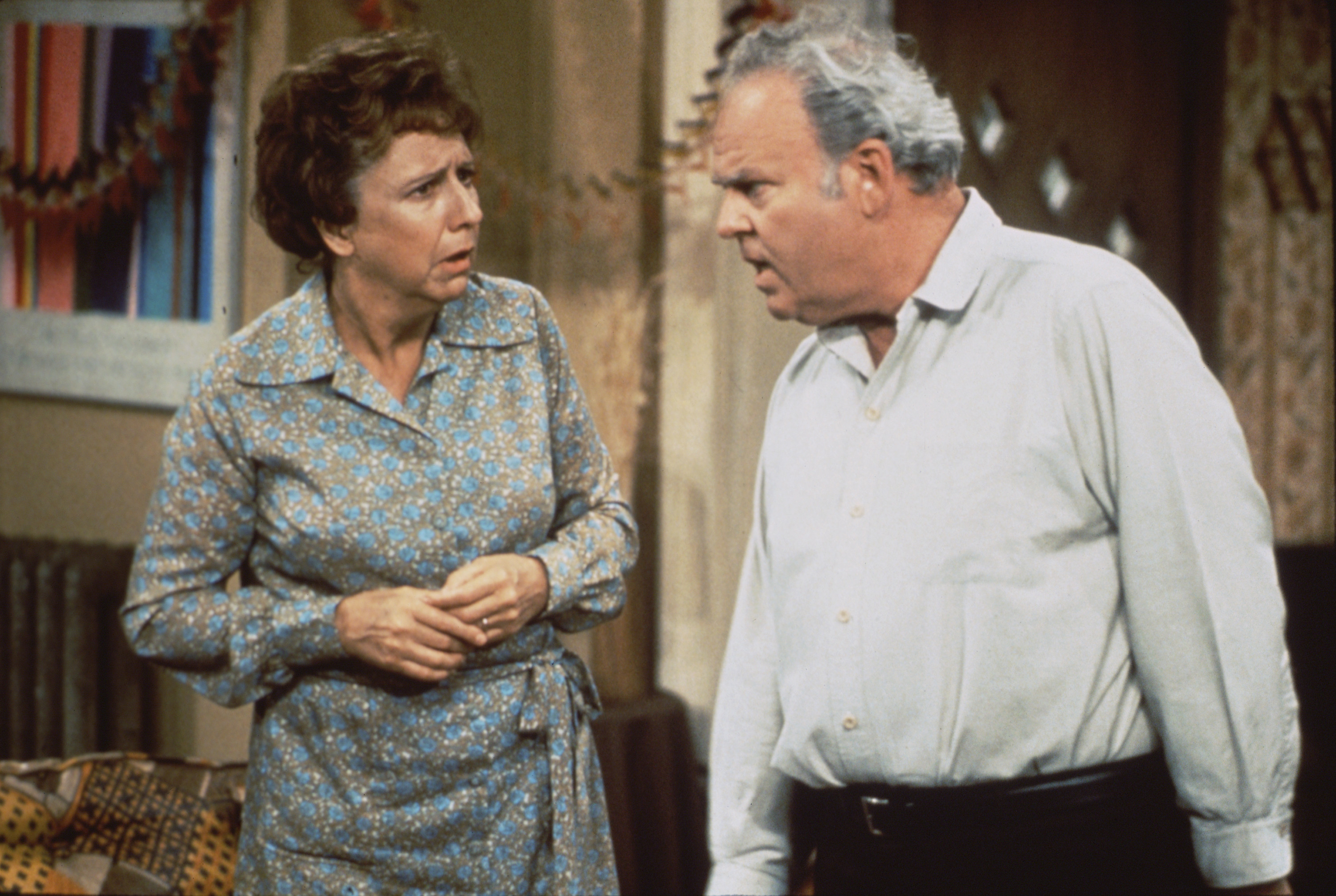 edith and archie bunker all in the family