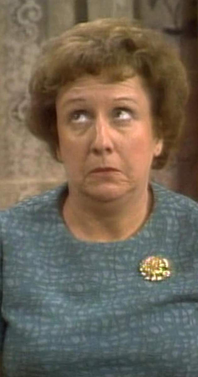 edith bunker all in the family rolling eyes
