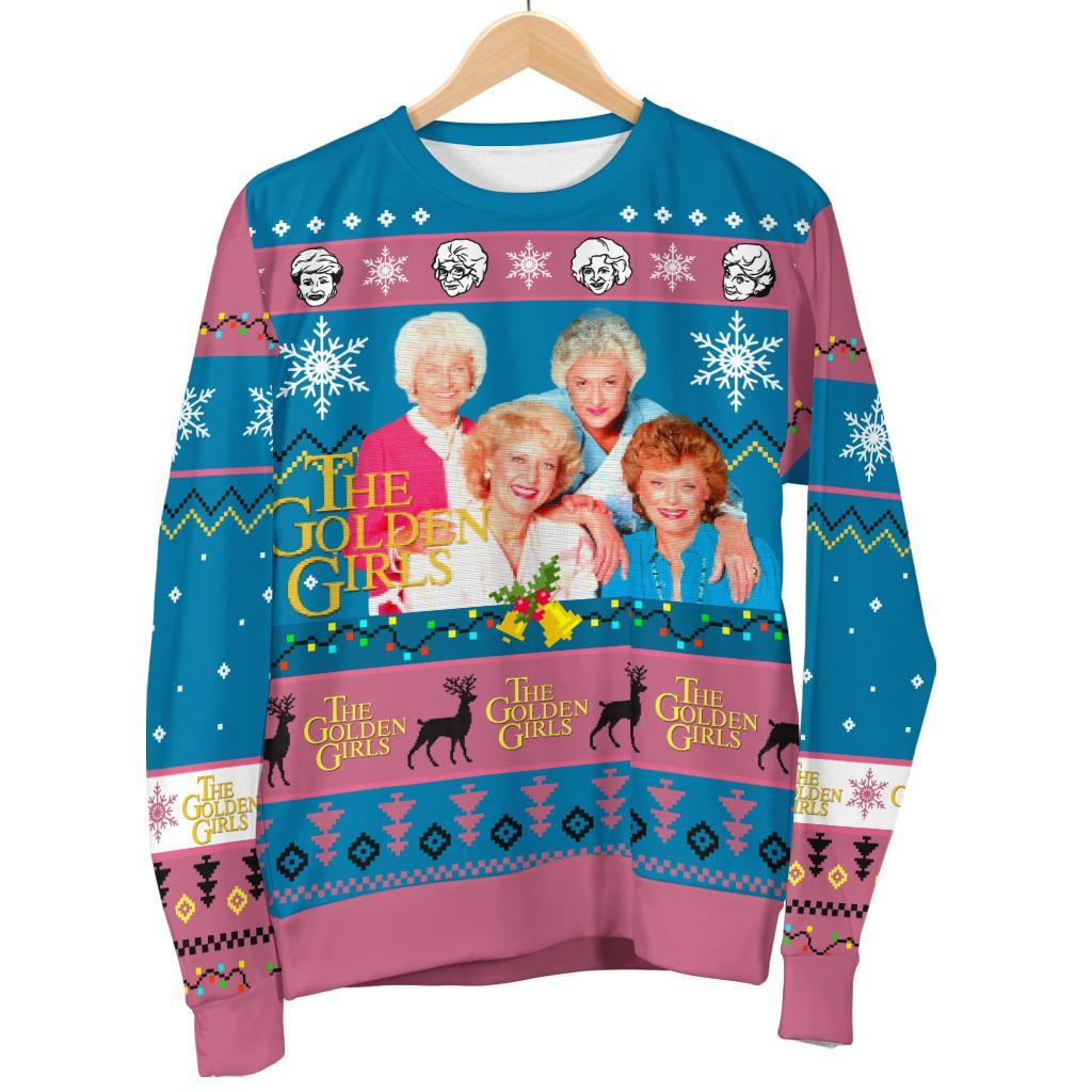the golden girls ugly christmas sweater