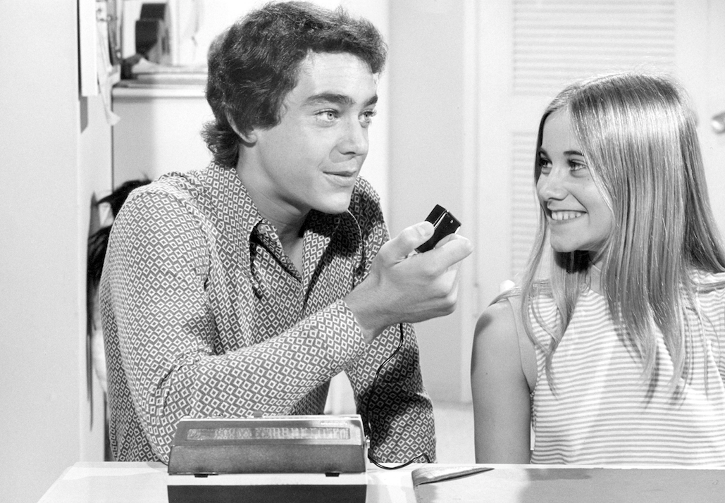 greg and marcia brady in love scenes