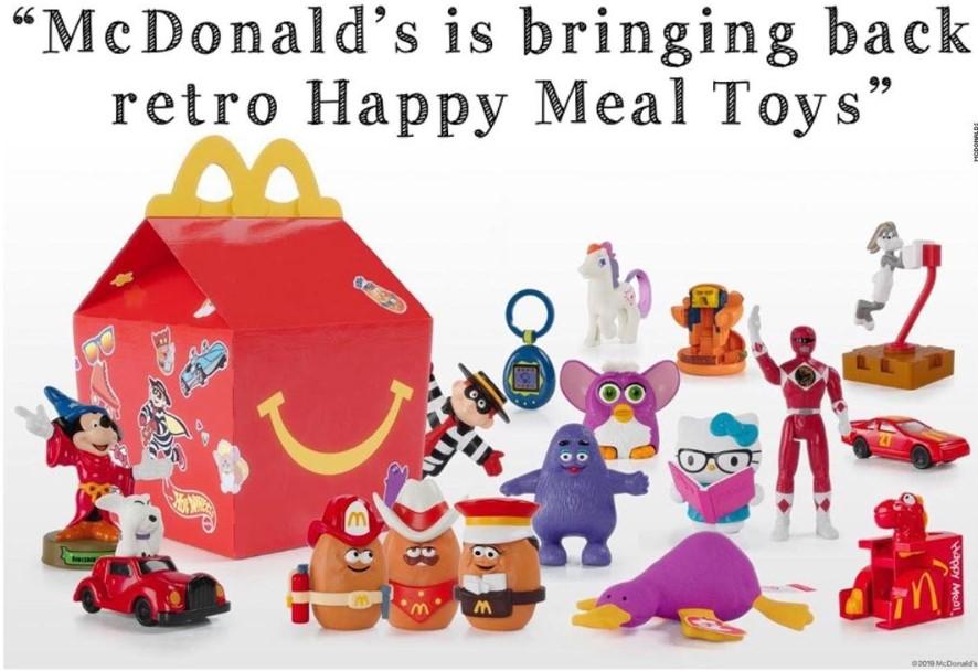 mcdonalds retro toys happy meal