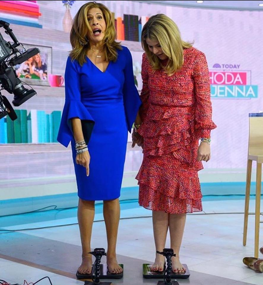 hoda kotb jenna bush hager weight today show
