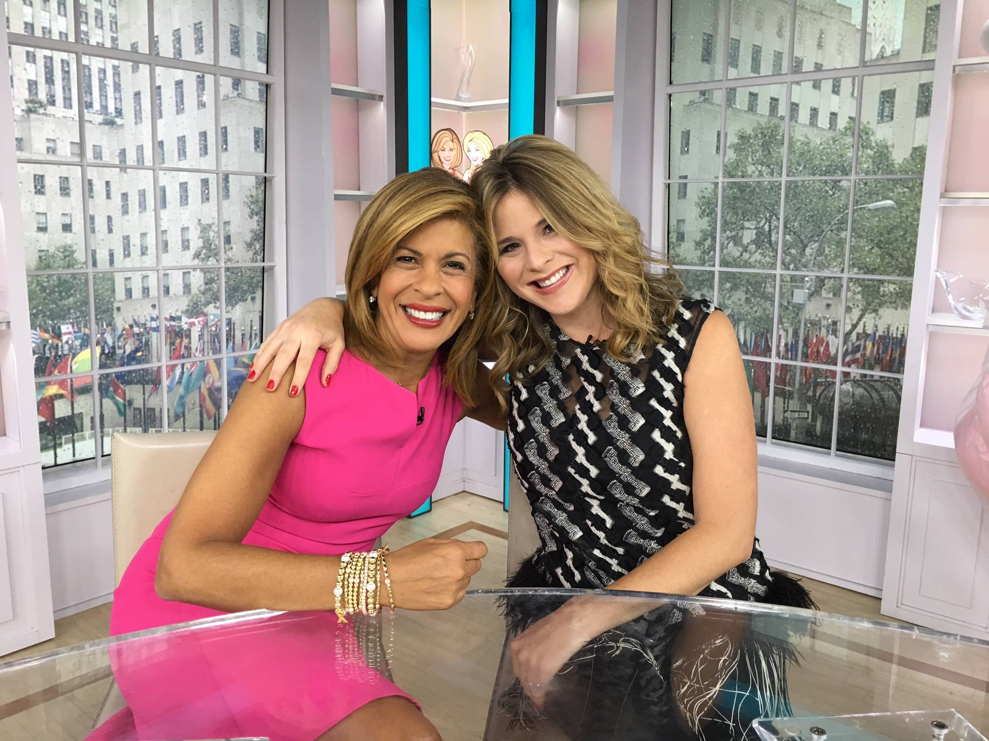 hoda kotb and jenna bush hager the today show