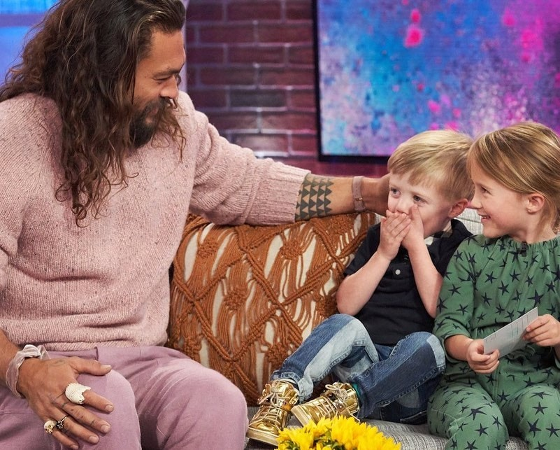 jason momoa river rose and remy kelly clarkson show