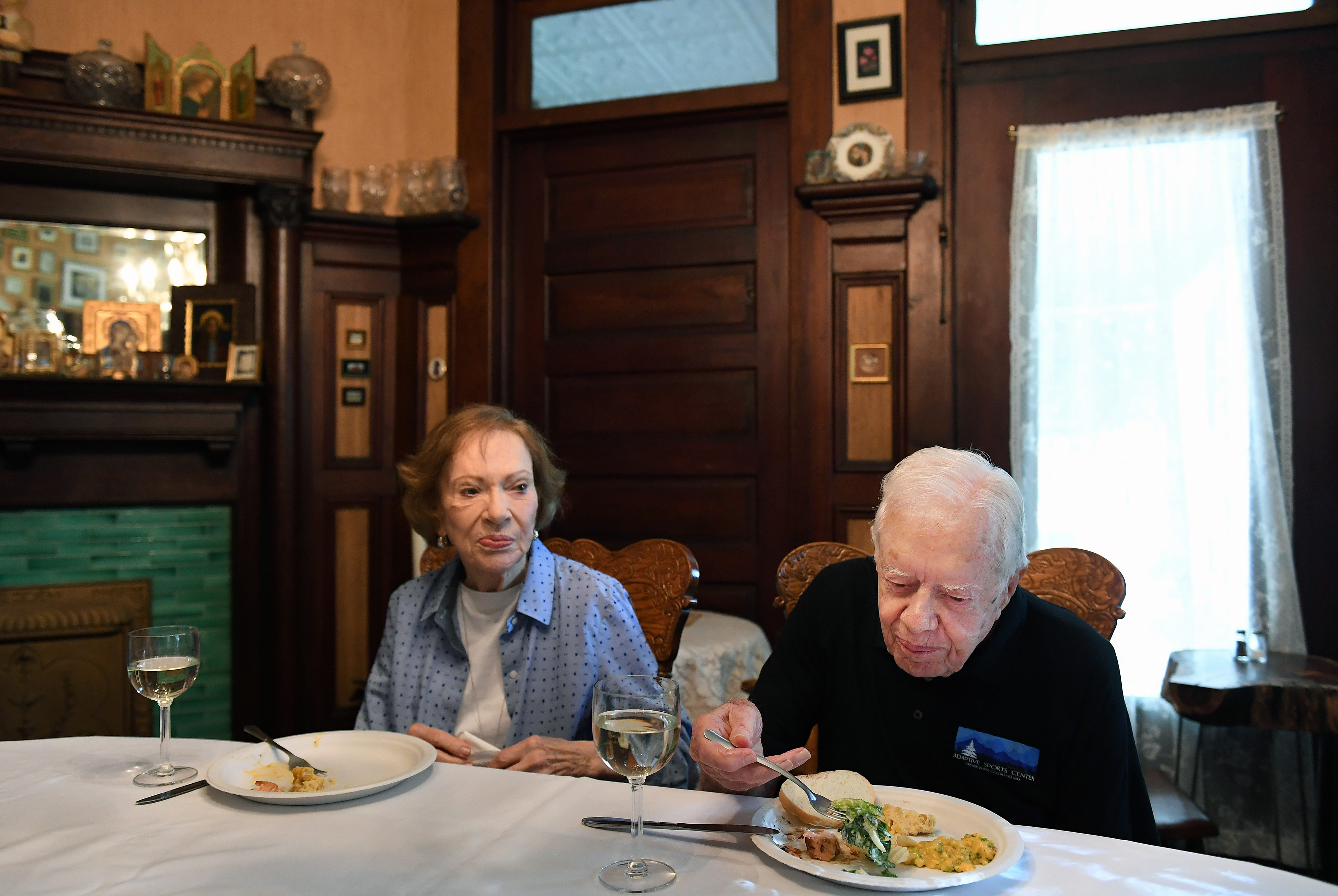jimmy carter and wife rosalynn carter