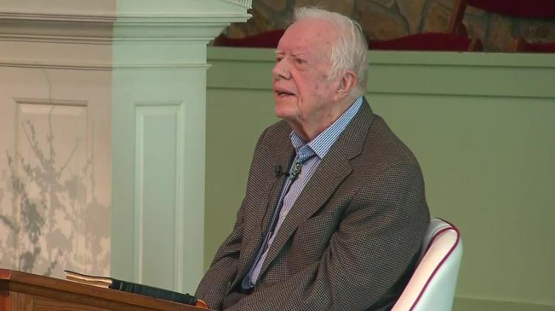 jimmy carter is at ease with death