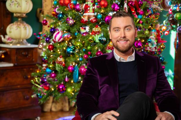 lance bass hgtv outrageous holiday houses special
