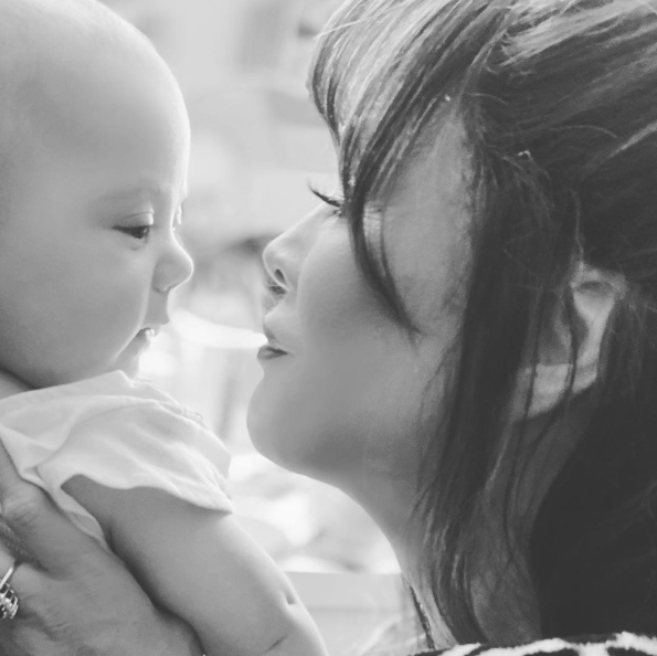 marie osmond posts photo with grandson