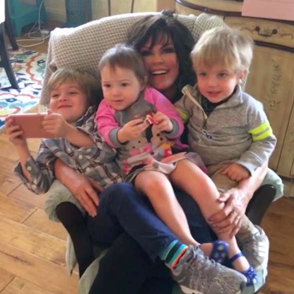 marie osmond photo with baby grandson