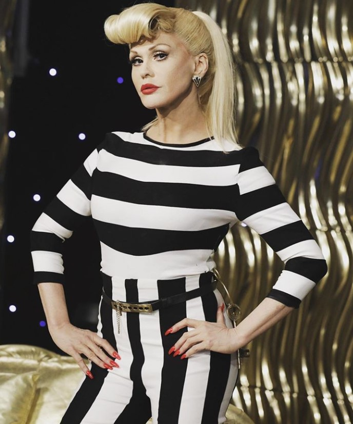 marie osmond dressed up as gwen stefani