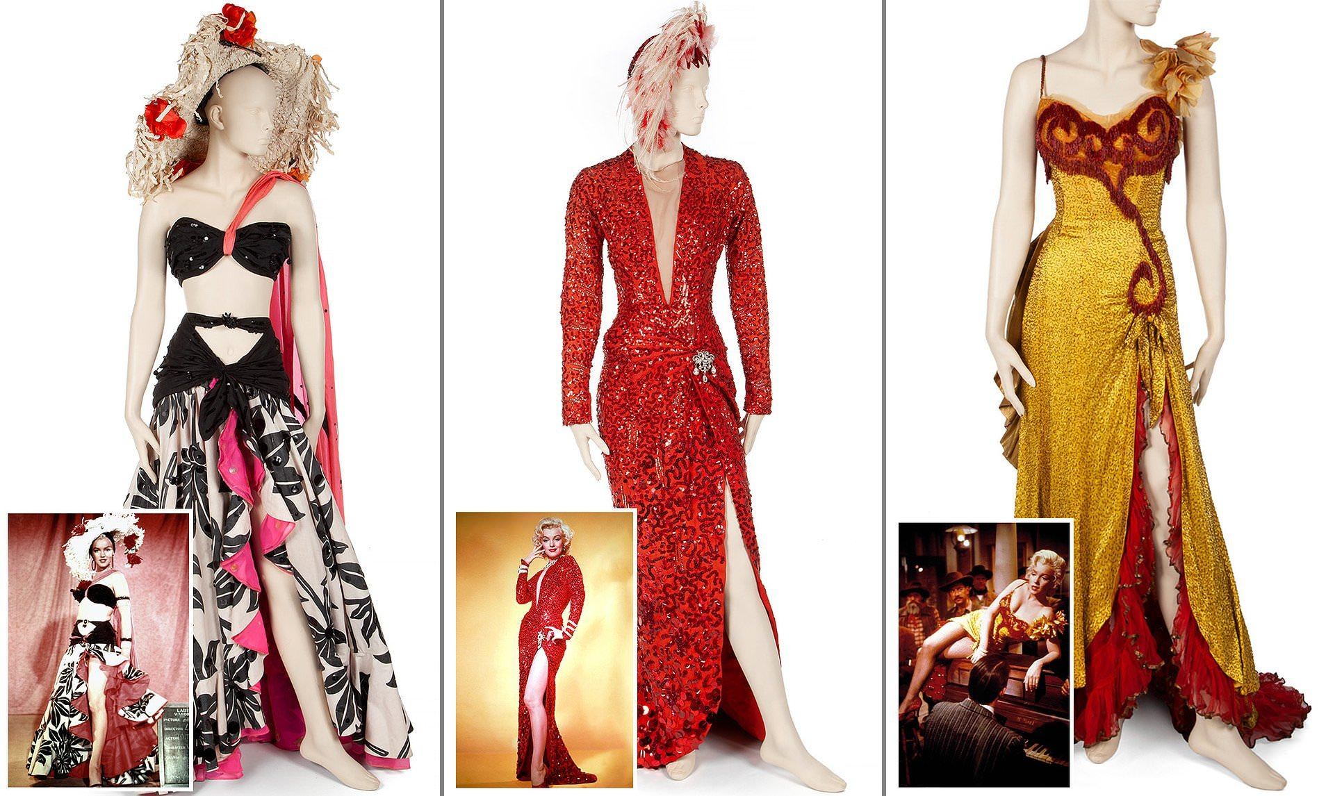 collection of marilyn monroe outfits sells at auction