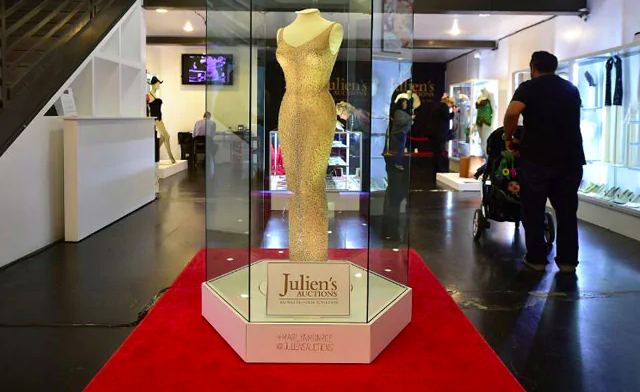 collection of marilyn monroe outfits sell at auction