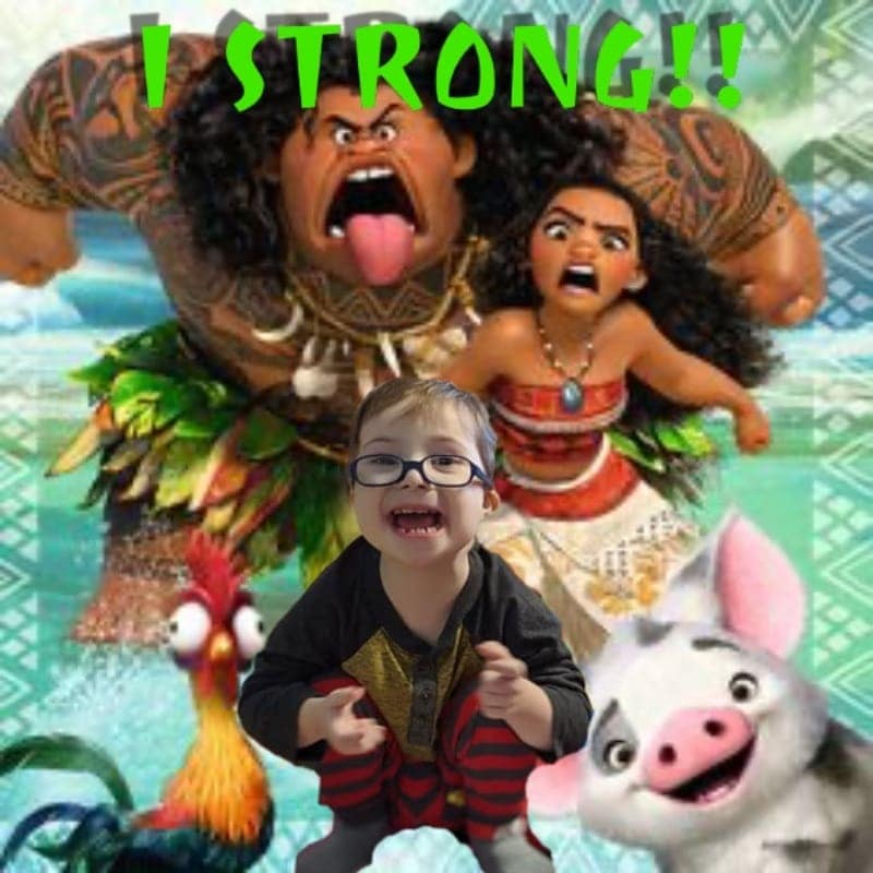 hyrum and moana characters