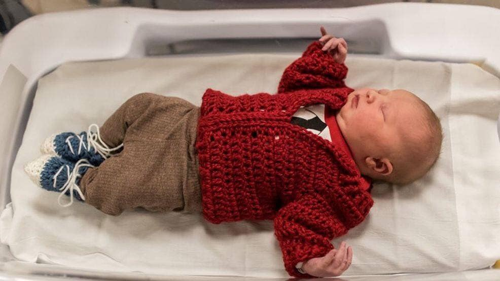 newborn mister rogers outfit