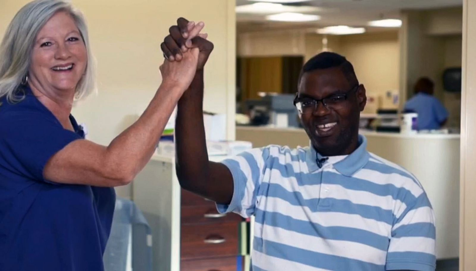 nurse adopts man with autism so he can get life-saving heart transplant