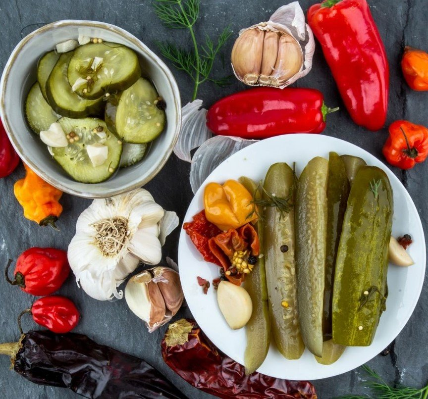 pickles and vegetables subscription box