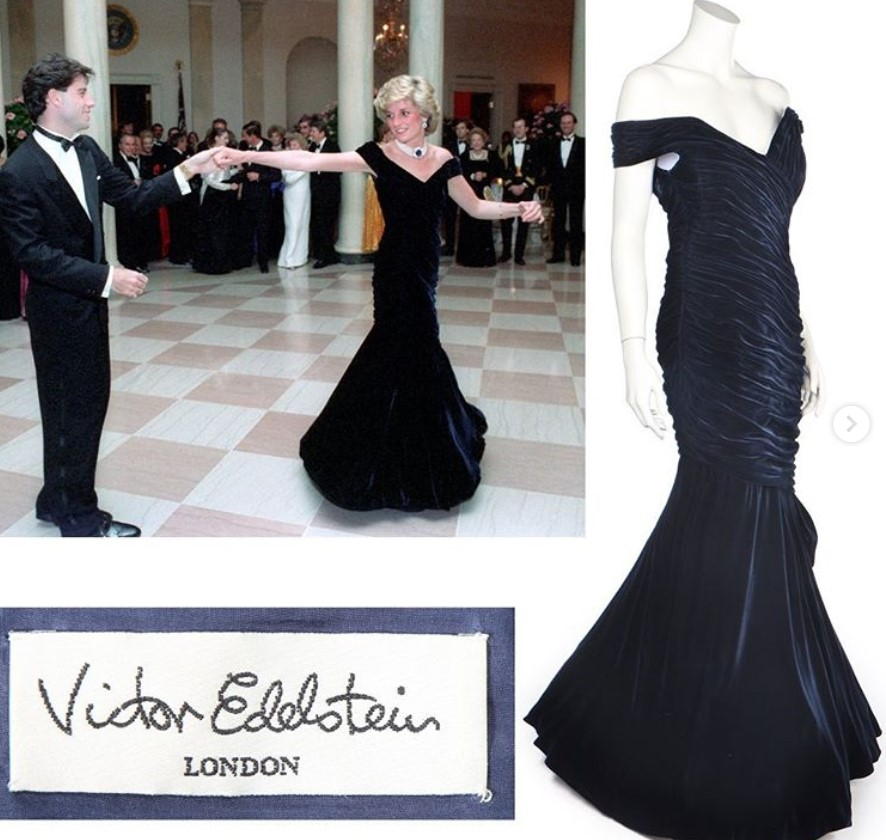 victor edelstein dress princess diana