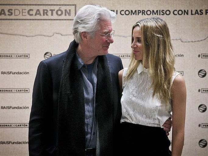 richard gere and wife alejandra silva