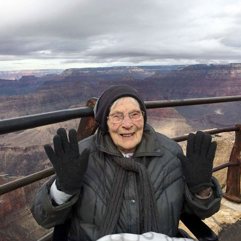 rose torphy at the grand canyon