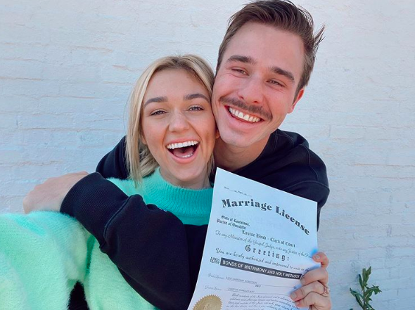sadie robertson christian huff married
