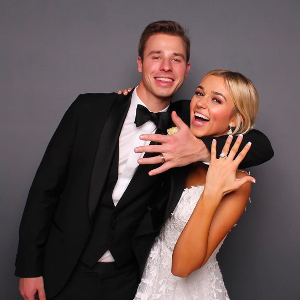 sadie robertson and christian huff are married