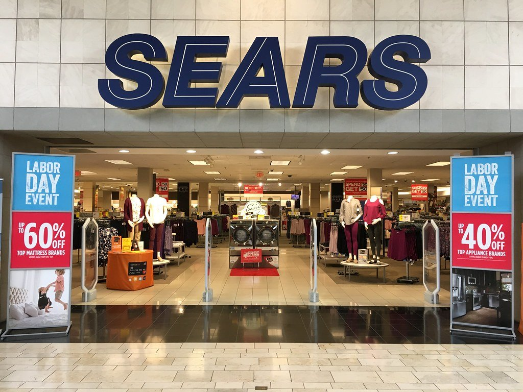 sears in a mall