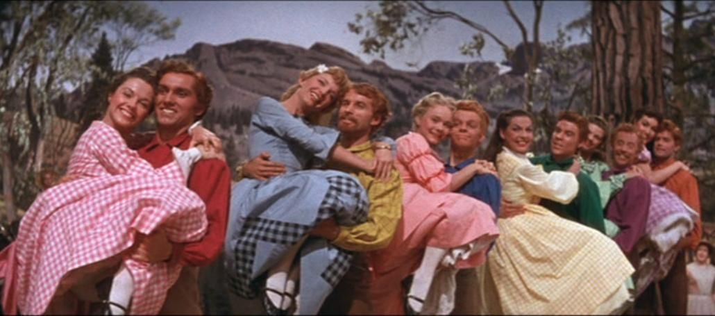 seven brides for seven brothers barn dance