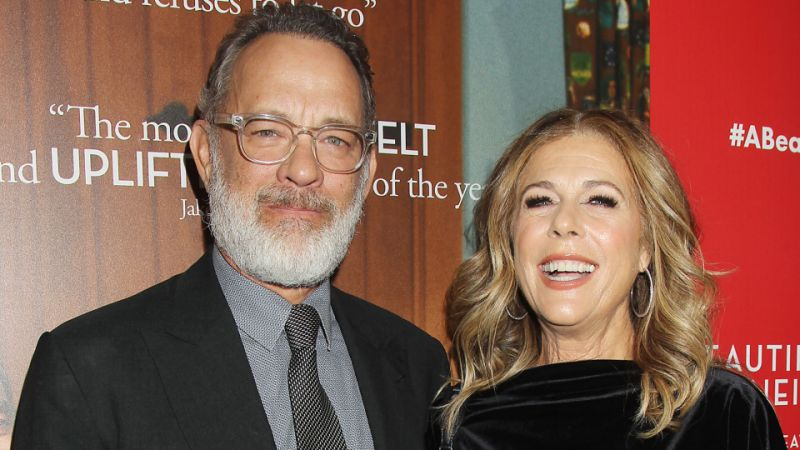 what tom hanks and rita wilson do during downtime