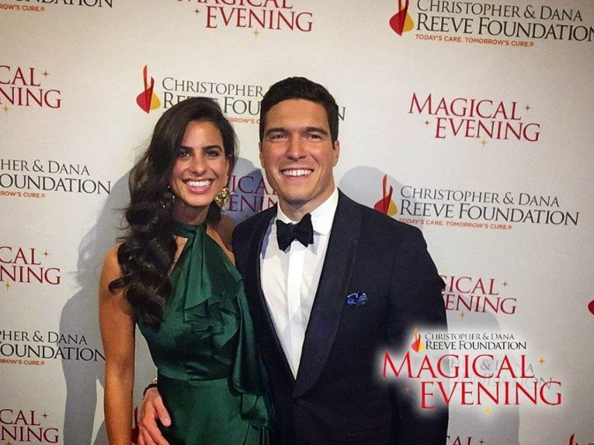 will reeve and date christopher and dana reeve foundation magical evening gala