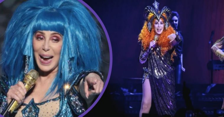 73-Year-Old Cher Stuns On MSG's Stage, Shows She Has No Plans Of Slowing Down