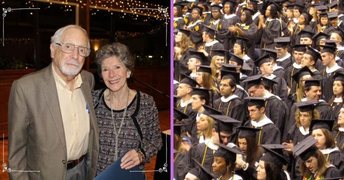 80 year old graduates from college this weekend