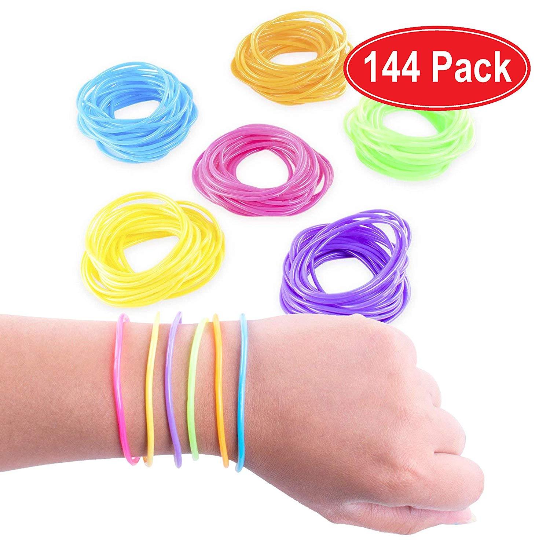 1980s rubber bracelets