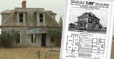 A House Ordered From A 1920s Sears Catalog Is Still Standing Today
