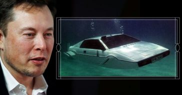 A couple found an abandoned Bond car that was then bought by Elon Musk