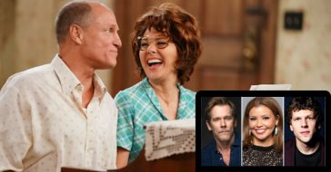 ABC's 'All In The Family' Cast Returns For Holiday Special With Justina Machado, Kevin Bacon, & Jesse Eisenberg
