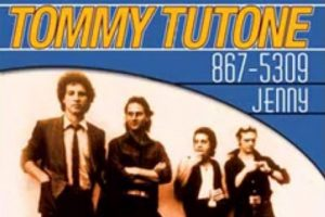 After careful work, Tommy Tutone gave America it's most popular phone number